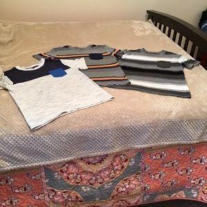 Bundle of boys shirts